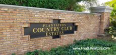 Plantation Country Club Estates