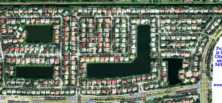 Fox Run Neighborhood - Plantation FL