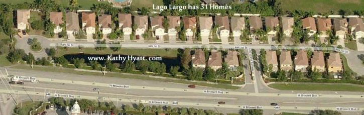 Lago Largo Neighborhood - Plantation FL