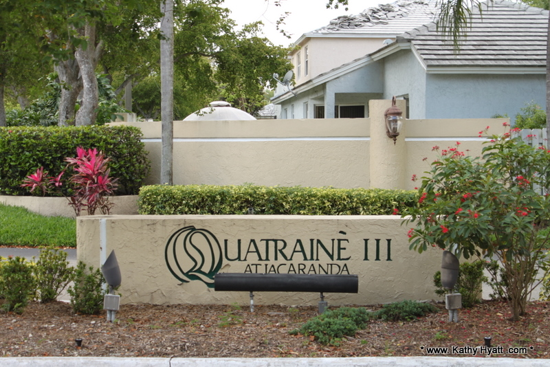 Quatraine at Jacaranda - Plantation FL