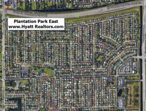 plantation park east aerial map